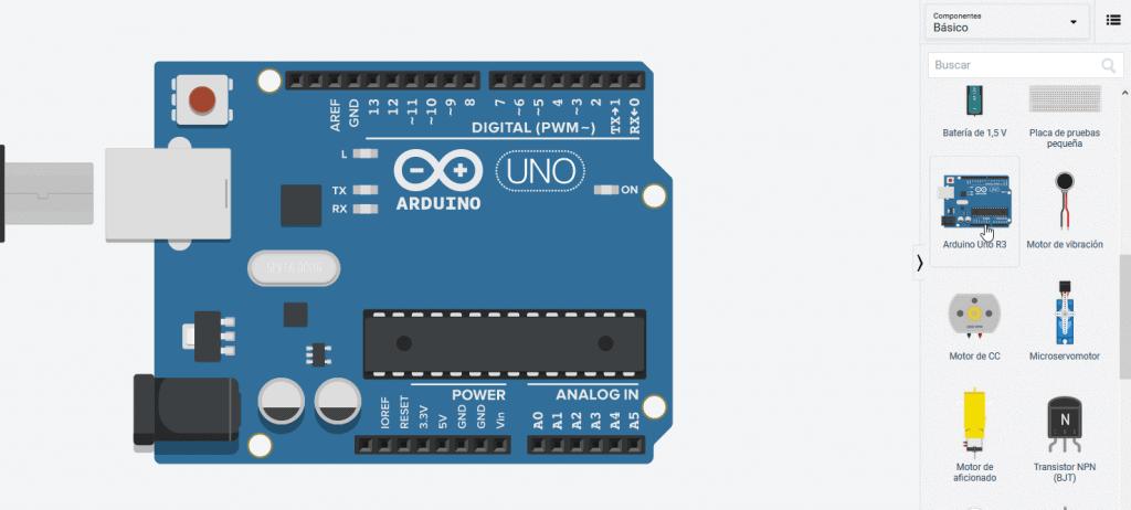 Función void loop Arduino