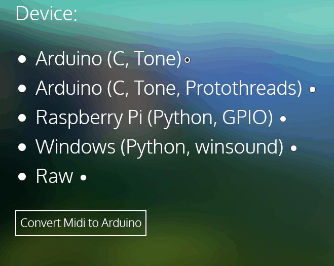 Canciones en Arduino