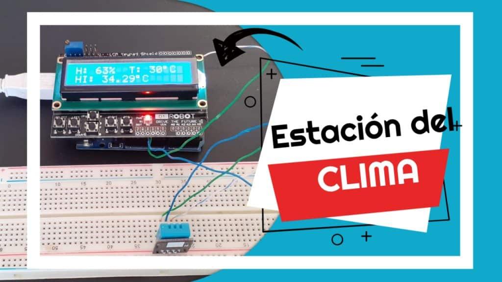 estación del clima meteorológica con arduino y dht11