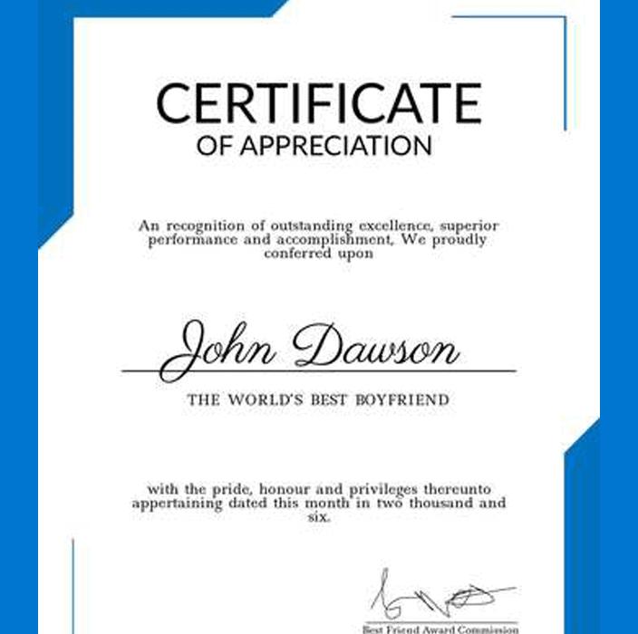 BONO # 2Certificado de finalización